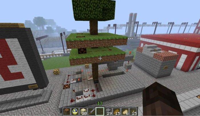 Un système d'arbre Piégé basé sur une vidéo de Crafted Movie