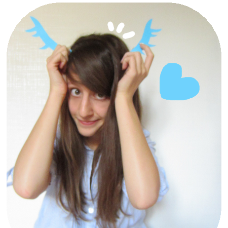 I am a blue deer.