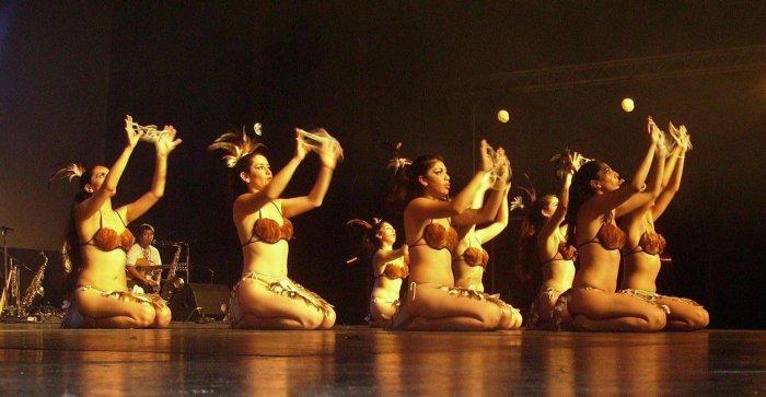 Ballet folklorique de Carahue (Chili) - Saint-Malo 2 juillet