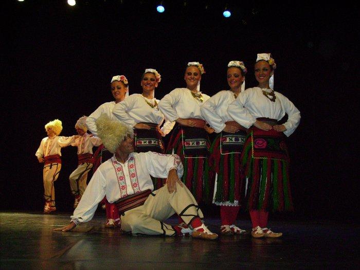 """Ensemble """"Kosmaj"""" (Serbie); Pontivy, le 9 juillet."""