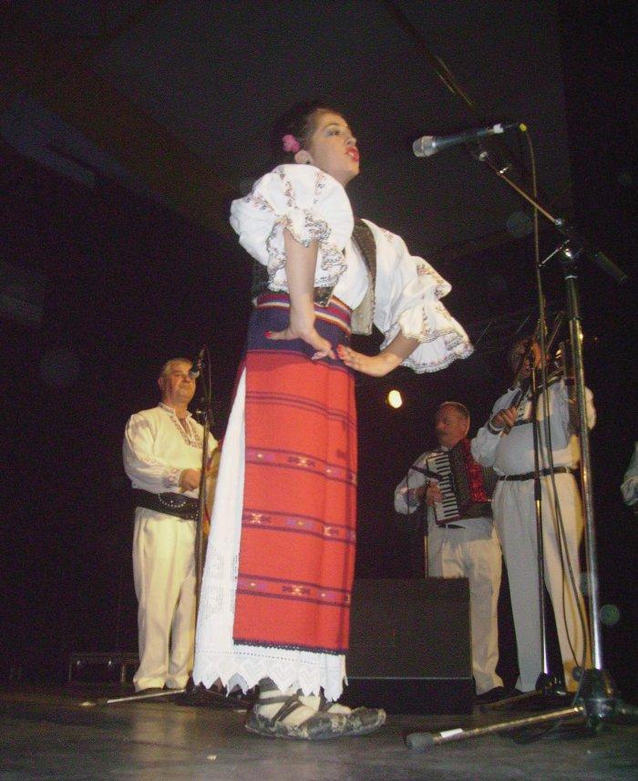 Ensemble Mugurelul de Cluj(Roumanie) - Saint-Malo 5 juillet