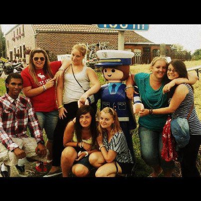 Marvin, Adeline, Justine, Moi, Kelly, Jessica & Maude :D