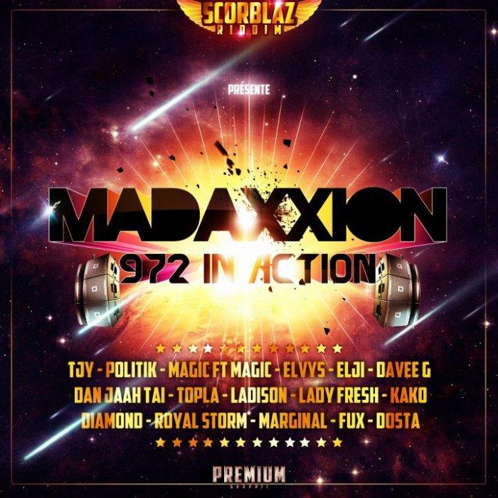 """Voici La Pochette Single """"MadaXXion"""" Du Gagnant (Premium-Graphic) Du Scorblaz Concours"""