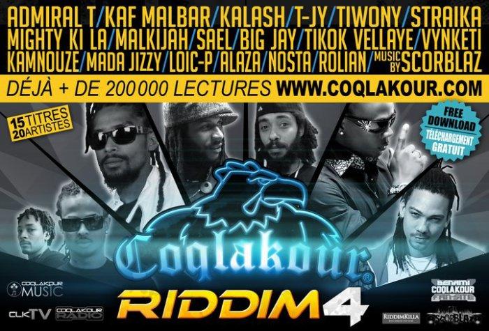 Coqlakour Riddim 4 By Scorblaz