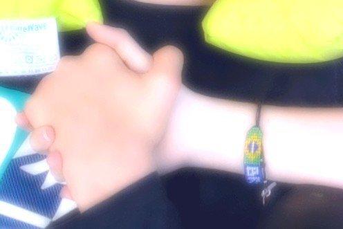 nos mains <3