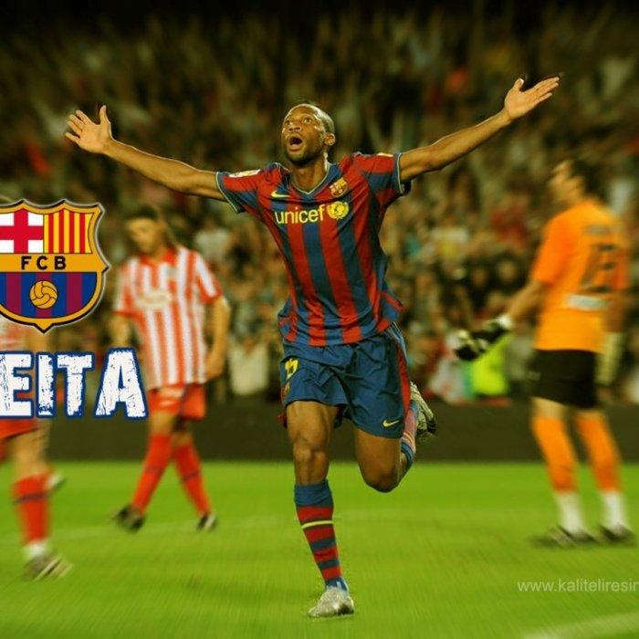 Seydou Keita FC Barcelone 2009