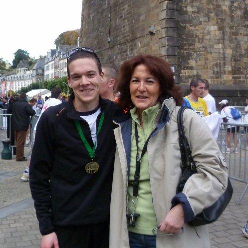 Arrivée des France de semi-marathon - oct 2010