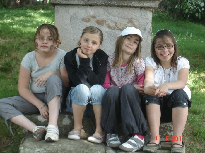Ines Claudie Madeline et moi Tiphanie