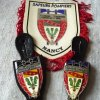 Profil de pompier-insigne