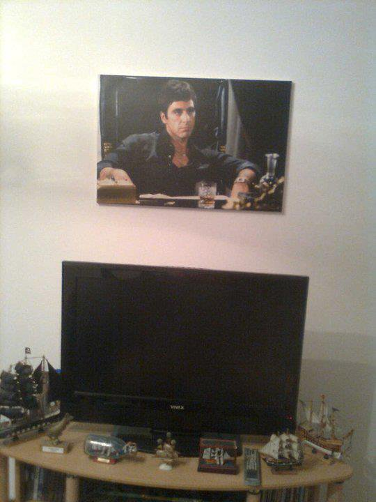 Mon poster scarface