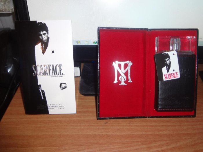 Mon parfum Scarface ;-)