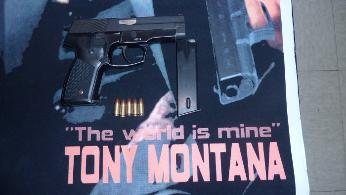 "Tony montana "" The world is Mine """