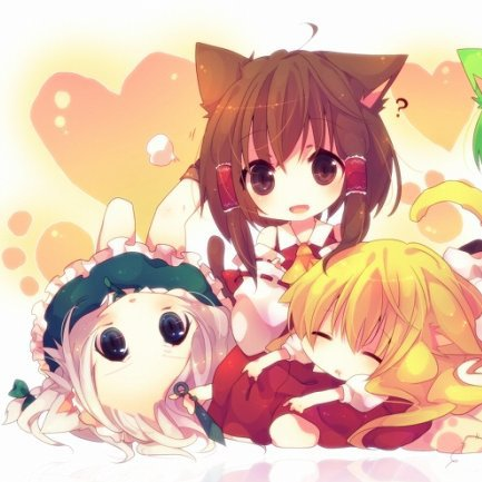 Izayoi Sakuya, Hakurei Reimu & Kirisame Marisa