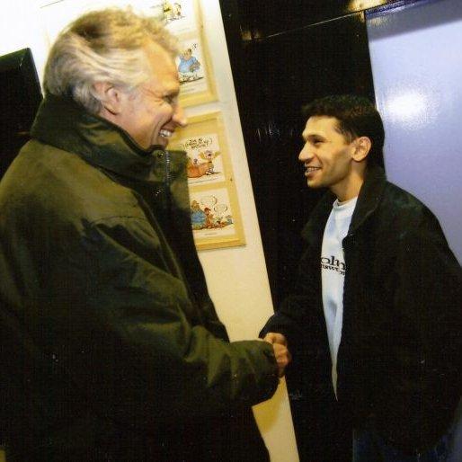 Mounir & de villepin en 2005