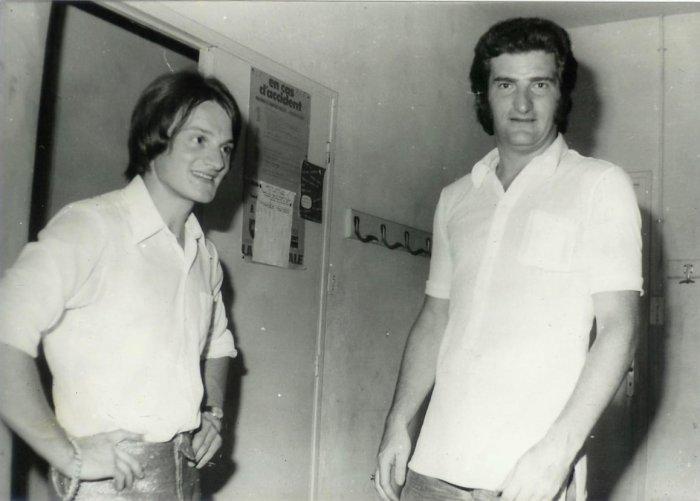 Paul et Eddy Mitchel