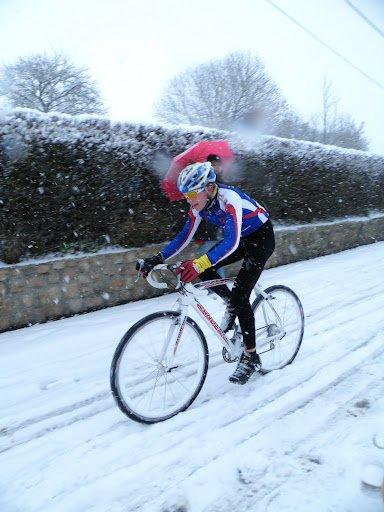 Le jour du Championnat des Flandres sous des bourrasques de neige !!!
