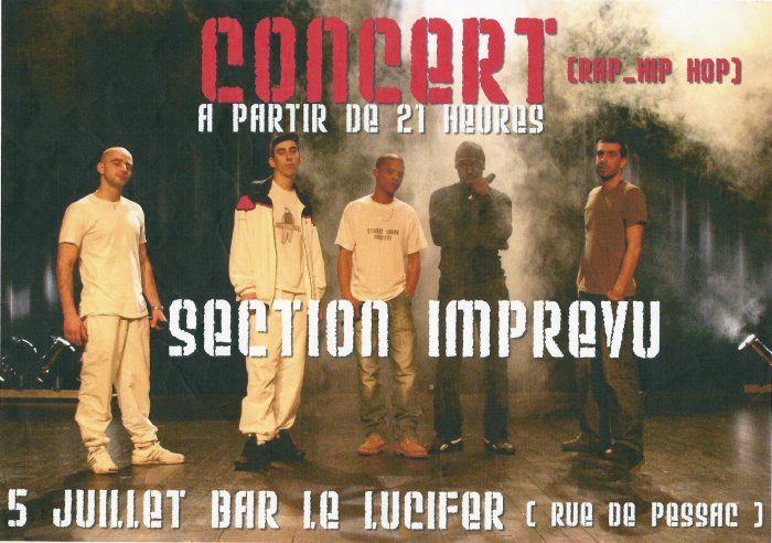 concert au bar le lucifer BX