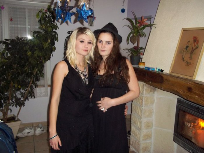 Lucie et Gwen