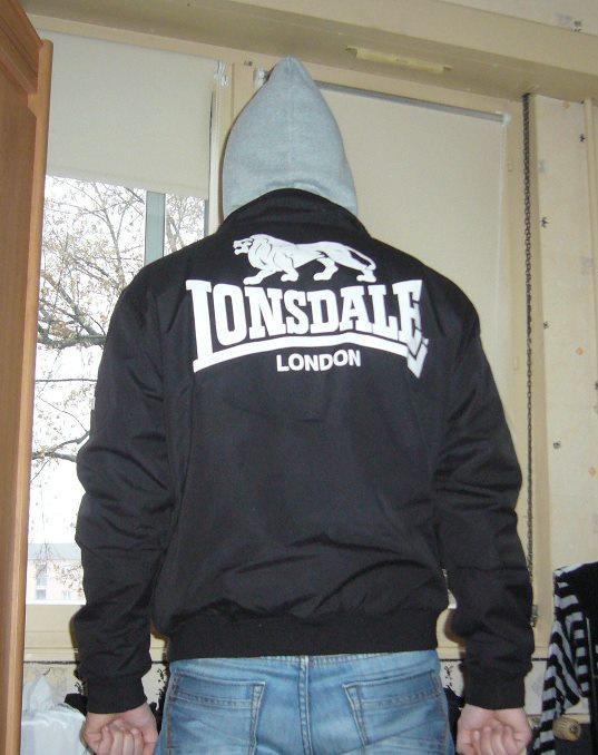Moi en LONSDALE