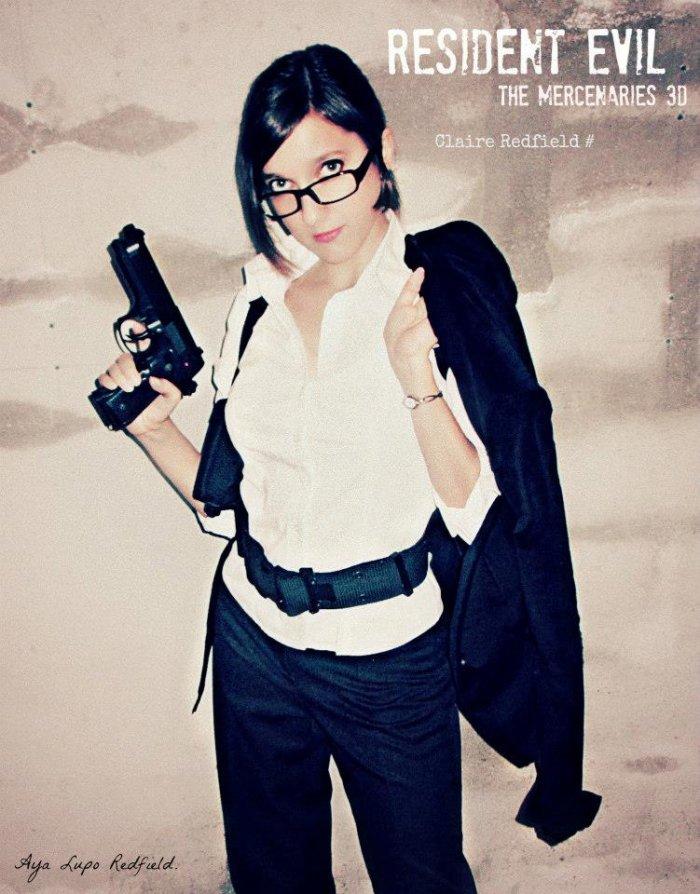 Claire Redfield (RE mercenaries 3D) by Aya
