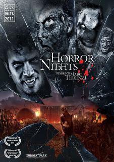 Affiche Horror Nights 2011