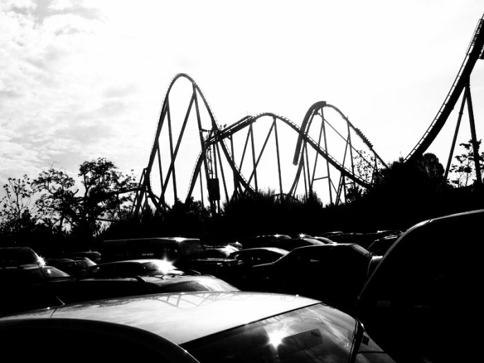 Parking du parc
