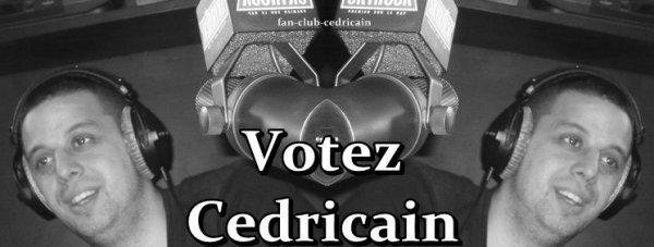 votez cedricain
