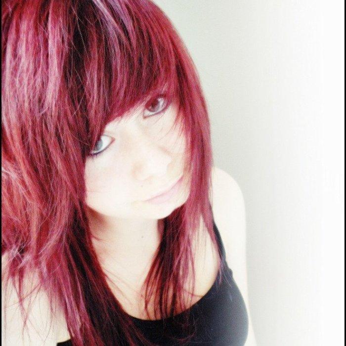 J'aime mes cheveux rouges *-*