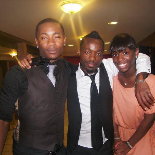 mon cousin,moi et ma petite soeur