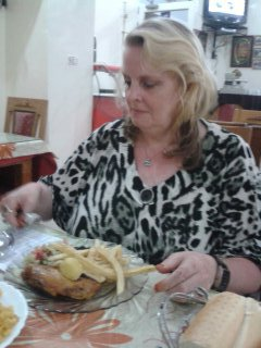 au restaurant a Kasserine