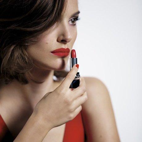 Natalie Portman. Rouge Dior