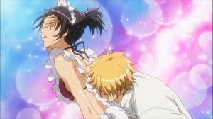 Usui et Misaki de Kaichou wa maid sama