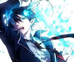 Rin Okumura de Blue Exorcist
