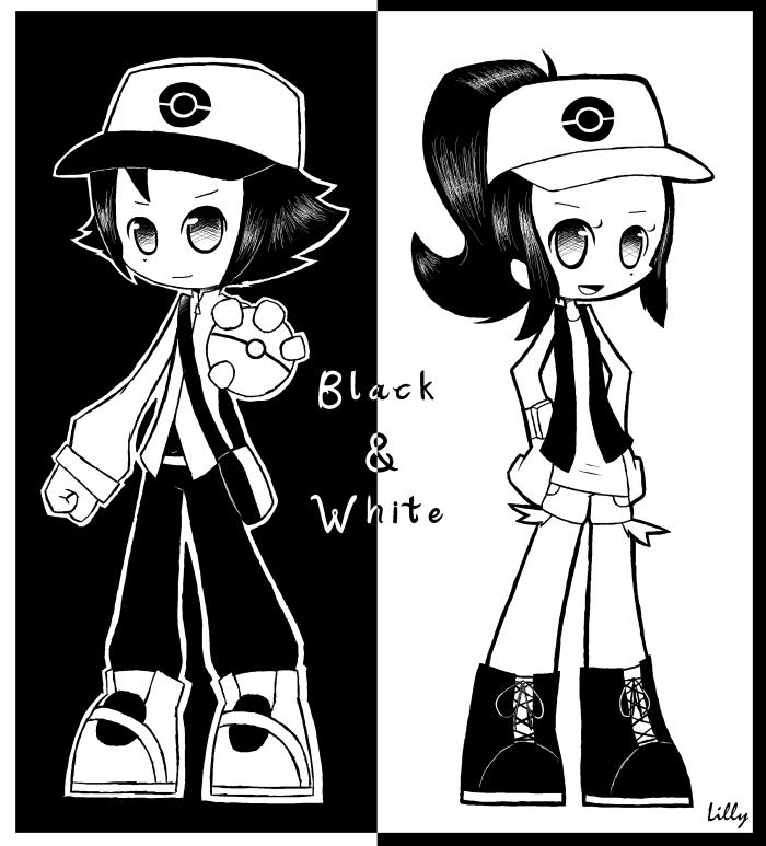 Noir & Blanche