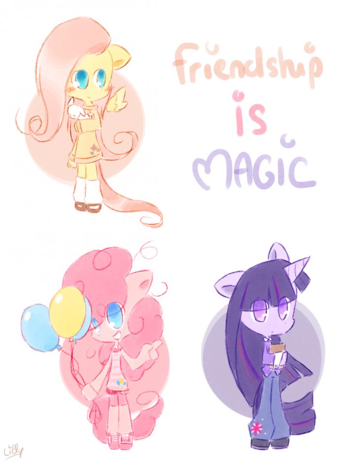 Les amies c'est magique