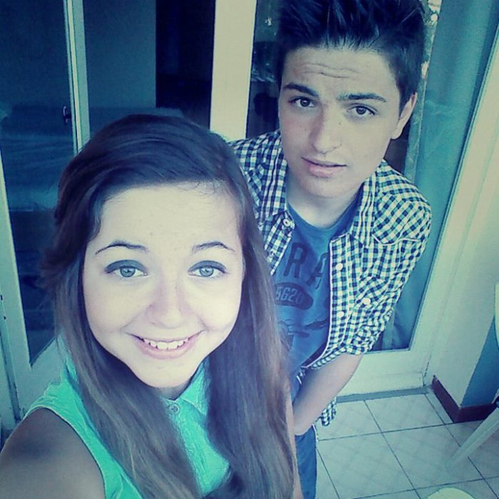 Ma soeur et moi ♥