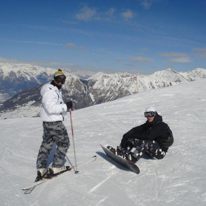 Bruno et Jo ski 2010