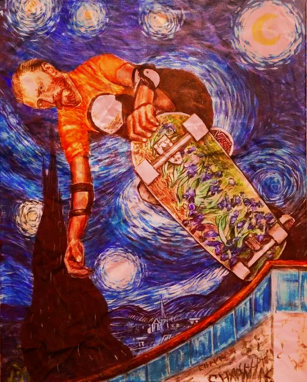 Vincent Van Skate !!! :-O
