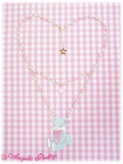 Bear Necklace Angelic Pretty