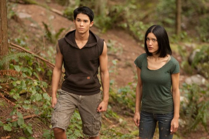 Seth et Leah Clearwater