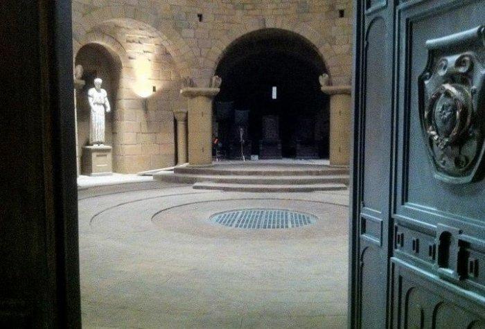 La salle des trônes