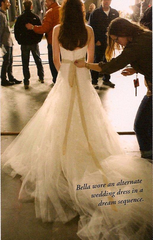 Dernières retouches de la 2ème robe de mariée