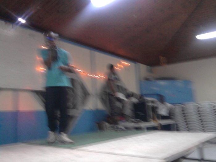 double k sur scène