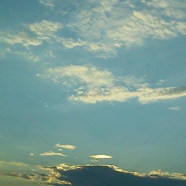 J'pourrais passé ma vie a regardé les nuages...