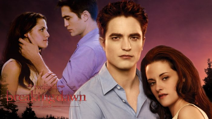 Edward et Bella Wallpaper