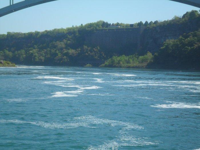 Aux chutes Niagara