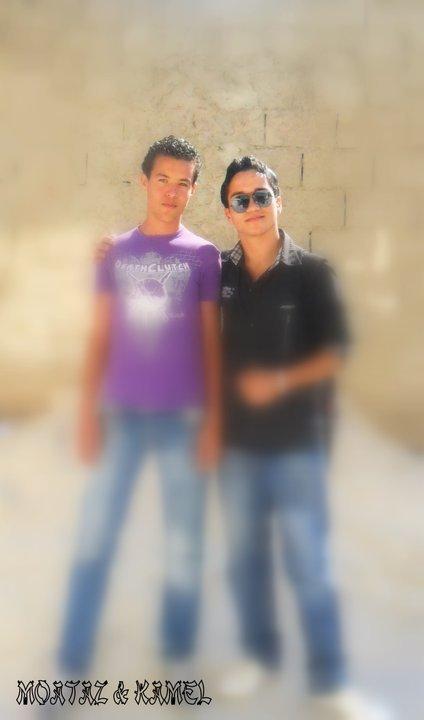 mon ami kamel avec moi