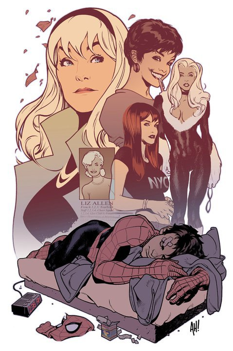 Spider-Man's Women