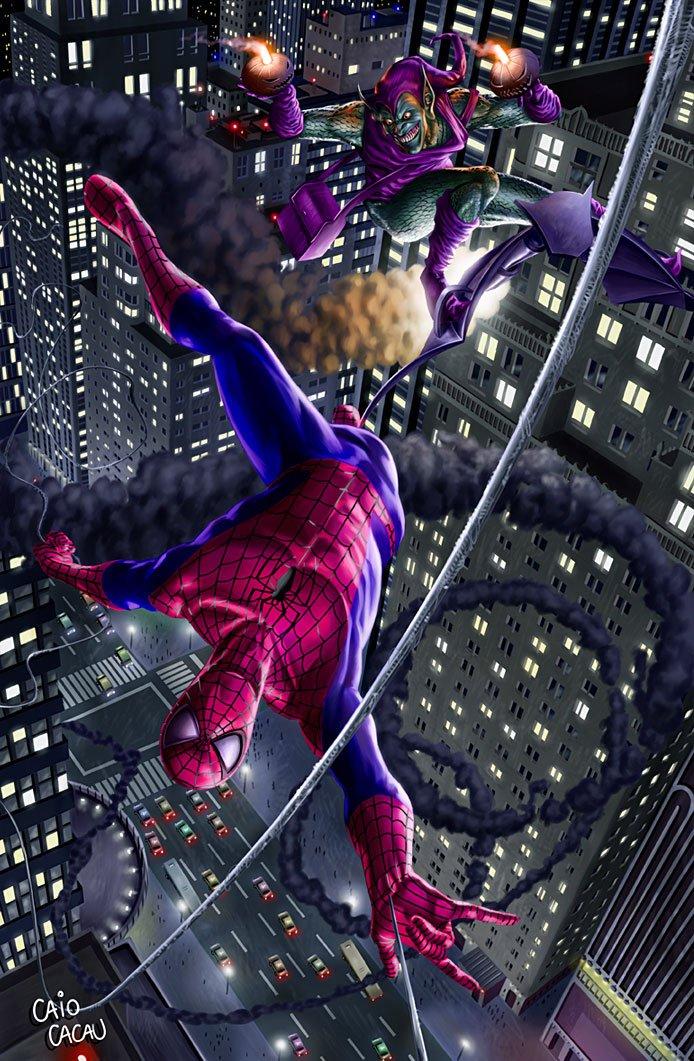 Spider-Man VS Green Goblin