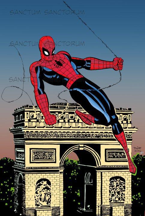 Spider-Man @ Paris